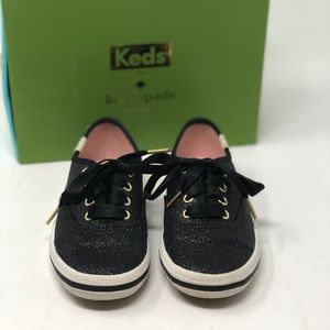 Kate spade keds toddler girl glitter shoes size 9